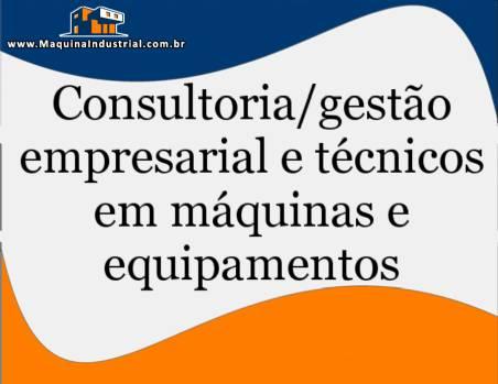 Consultoria em máquina de embalagens, nacionais e importadas, programação e reposição de peças