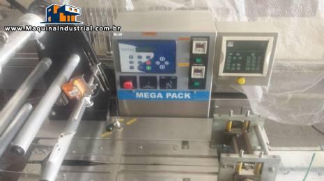 Embaladora Flow - Pack Mega Pack II com CLP, fotocélula e com passo variável