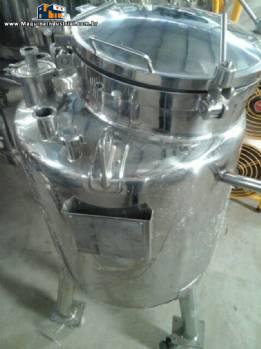 Tanque de transferência em inox 316 para 140 litros Inoxil