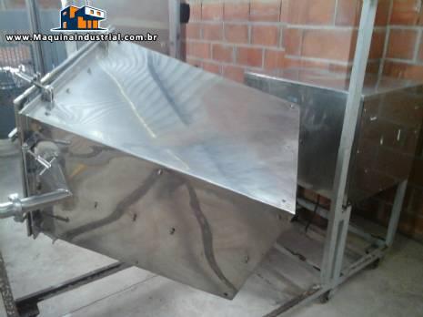 Misturador industrial em aço inox fabricante Conserli