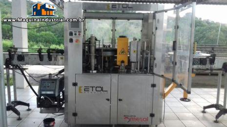 Rotuladora rotativa automática Etol / Mesal BOPP - MR 12