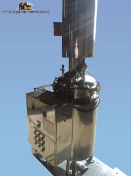 Reator em aço inox de 200 litros